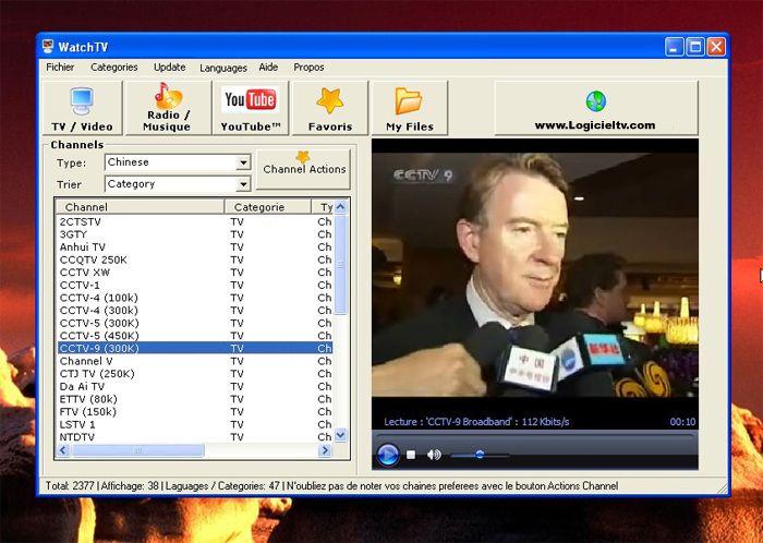 logiciel tv jsc sport gratuit